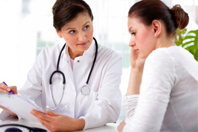 Выделения-из-влагалища-перед-месячными-из-за-развития-беременности